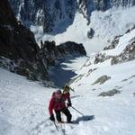 West-South Face, Aiguille d'Argentière (3 900 m / 12 795 ft)