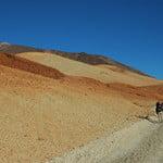 Montaña blanca with view at peak