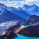 Everest Gokyo Lakes, Himalaya