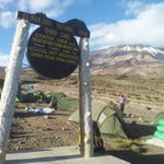 Third cave is 2nd day Camp on Rongai route Kilimanjaro trekking adventures