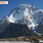 It is called Broad Peak because of its breath at the top. It has three heads North, South and Central.