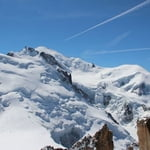Arete des Cosmiques, up via Mont Maudit, down via Le Nid d'Aigle, Cosmic ridge, Mont Blanc (4 810 m / 15 781 ft)