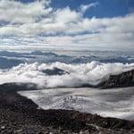 Climbing Mount Kazbek from Georgia