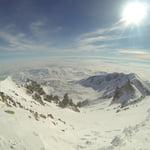 Seytan (Devil's) Couloir, Erciyes Dağı (3 917 m / 12 851 ft)