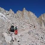 Whitney Trail, Mount Whitney (4 418 m / 14 495 ft)