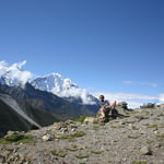 View from on the way to Lobuche