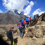 Heading to Nagkar Tshang Peak (5,616m)
