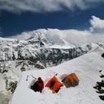 South Rib, Pik Yevgenii Korzhenevskoy (7 105 m / 23 310 ft)