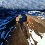 teide peak in wintertime o spring