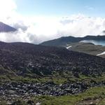 Round Mount Elbrus, Caucasus Mountains