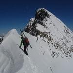 South Ridge, Piz Bernina (4 049 m / 13 284 ft)