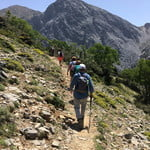 The pictures are from our hiking tour