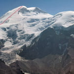 West Face, Mount Elbrus (5 642 m / 18 511 ft)