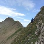 East Ridge, Grauspitz (2 599 m / 8 527 ft)