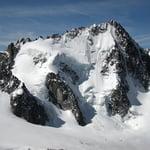 Aiguille du Chardonnet (3 824 m / 12 546 ft)