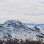 Iztaccihuatl 5254 m  & Nevado de Toluca 4630 m