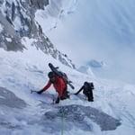 Gervasutti Couloir, Tour Ronde (3 792 m / 12 441 ft)