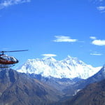 Everest base camp helicopter tour.