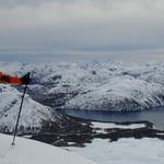 Ski touring in Baguales and Volcanoes, Andes