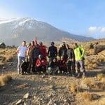Adventure Kilimanjaro climbing trip through Lemosho route 7 days