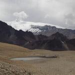 Manzano Historico - Passo de los Piuquenes - Portillo Argentina, Cerro Marmolejo (6 108 m / 20 039 ft)