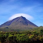 Mount Pico, Azores, view from the eastern face of the vulcano