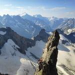 Via Pilier Paquet, Le Rateau (3 809 m / 12 497 ft)