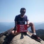 summit of Bukit Kutu