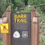 Barr Trail, North American Cordillera
