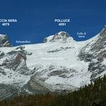 Roccia Nera (4 075 m / 13 369 ft)