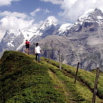 The Eiger Trail: Gstaad to Grindelwald, Alps