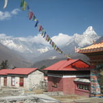 View from Tengbuche