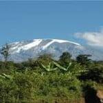 Kilimanjaro best snow view seen from Marangu and Rombo villages when you head to Rongai gate via Tarakea to begin hike