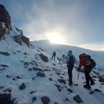 Normal Route, Cayambe (5 790 m / 18 996 ft)