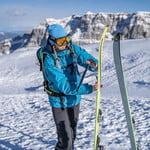 SkiTour to Rifugio Graffer for Beginners