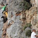 Sport rock Climbing