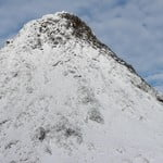 Piquinho ascent with snow and ice