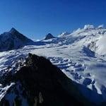 Nevado Chachacomani (6074 mt) Cordillera Real Bolivia