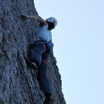 Rock climbing at Kalymnos