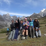 Group heading to Everest Base camp