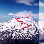 North-East Ridge, Bazardyuzi (4 466 m / 14 652 ft)