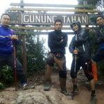 Peak of Mount Tahan