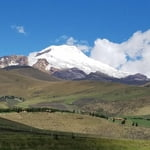 Climbing Cayambe (18,996ft/5.790 m.)  in 2 days