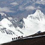 Polish Variation, Aconcagua (6 962 m / 22 831 ft)