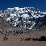 Aconcagua Base Camp Trek, Andes