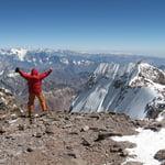 Polish Traverse, Aconcagua (6 962 m / 22 831 ft)