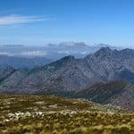High in the Franschhoek Mountains near the top of Perdekop Peak.