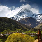 kazbek, Kazbek (5 033 m / 16 513 ft)