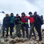 Top of Nagkar Tshang Peak (5,616m)