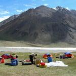 Manglik Sar Base Camp